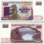Zimbabwe 100 Dollars 1995 UNC