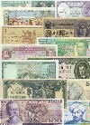 Banknote Country-Set of 150 different countries banknotes UNC