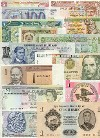 Banknote Regular Set of 1000 different world banknotes UNC