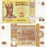 Moldova 1 Leu 1998 UNC