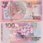 Suriname 100 Gulden 2000 (AP010550) UNC