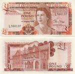 Gibraltar 1 Pound 4.8.1988 (L5817xx) UNC