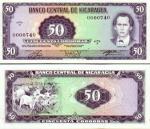 Nicaragua 50 Cordobas 1978 AU