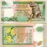 Sri Lanka 10 Rupees 1.7.2004 (M/405 8812xx) UNC