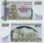 Zimbabwe 1000 Dollars 2003 UNC