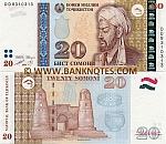 Tajikistan 20 Somoni 1999 (2000) (DD8310312) UNC