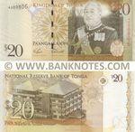 Tonga 20 Pa'anga (2009) (A00080x) UNC
