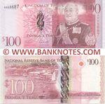 Tonga 100 Pa'anga (2008) (A045687) UNC