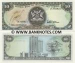 Trinidad & Tobago 10 Dollars (1985) (CK358916) UNC