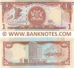 Trinidad & Tobago 1 Dollar (2017) (SW5692xx) UNC