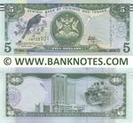 Trinidad & Tobago 5 Dollars (2017) (FR7229xx) UNC
