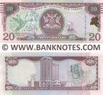 Trinidad & Tobago 20 Dollars (2017) (LW4040xx) UNC