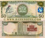Trinidad & Tobago 50 Dollars 2006 (AF766252) UNC