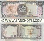Trinidad & Tobago 10 Dollars (2017) (EG8079xx) UNC