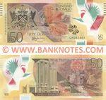 Trinidad & Tobago 50 Dollars 2015 (CH592403) polymer UNC