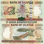 Uganda 10000 Shillings 2008 (EY155633) UNC