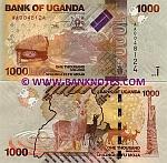 Uganda 1000 Shillings 2010 (AA00481xx) UNC