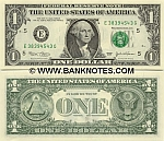 United States 1 Dollar 2003 A (F46666663P) (circulated) VF