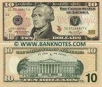 United States of America 10 Dollars 2006 (L12) (IL63054080B) UNC