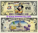 Disney 1 Dollar 2009 (D000033xx) UNC