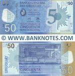 Uruguay 50 Pesos Uruguayos 2017 (A-000258xx) UNC