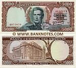 Uruguay 5000 Pesos (1967) UNC