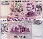 Uruguay 1000 Pesos (1974) (12.714.31xA) UNC