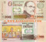 Uruguay 200 Pesos Uruguayos 2000 (B-07986776) UNC
