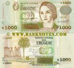 Uruguay 1000 Pesos Uruguayos 2004 UNC