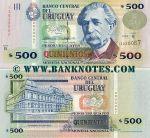 Uruguay 500 Pesos Uruguayos 1999 (B-13830057) UNC