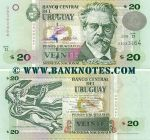 Uruguay 20 Pesos Uruguayos 2003 UNC