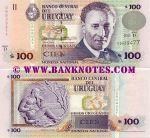 Uruguay 100 Pesos Uruguayos 2003 UNC