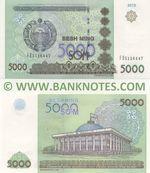 Uzbekistan 5000 Sum 2013 (FO51164xx) UNC