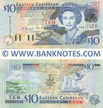 Saint Vincent & The Grenadines 10 Dollars (2003) (H221732V) UNC