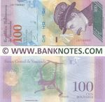 Venezuela 100 Bolivares 22.3.2018 (J317669xx) UNC