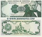 Venezuela 20 Bolivares 1992 UNC