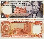 Venezuela 50 Bolivares 1995 (U634541xx) UNC