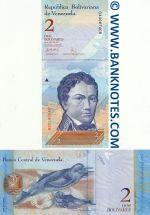 Venezuela 2 Bolivares 24.5.2007 (G43087406) UNC