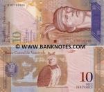 Venezuela 10 Bolivares 20.3.2007 (B8279597x) UNC