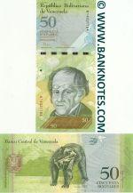 Venezuela 50 Bolivares 3.2.2011 (M14321162) UNC