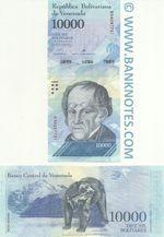 Venezuela 10000 Bolivares 13.12.2017 (B942877xx) UNC