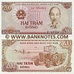 Viet-Nam 200 Dong 1987 UNC
