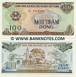 Viet-Nam 100 Dong 1991 (DL 24183xx) UNC