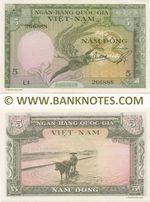 South Viet-Nam 5 Dong (1955) (L4/266888) UNC-