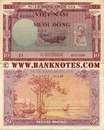 South Viet-Nam 10 Dong (1955) (J3/381711) UNC