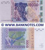 Ivory Coast 10000 Francs 2011 (11330676980) UNC