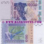 Togo 10000 Francs 2012 AU-UNC