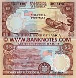 Samoa 5 Tala (2002) (D8639xx) UNC