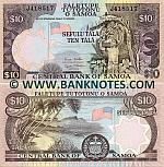 Samoa 10 Tala (2005) (J418508) UNC