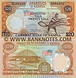 Samoa 20 Tala (2002) (D380437) UNC